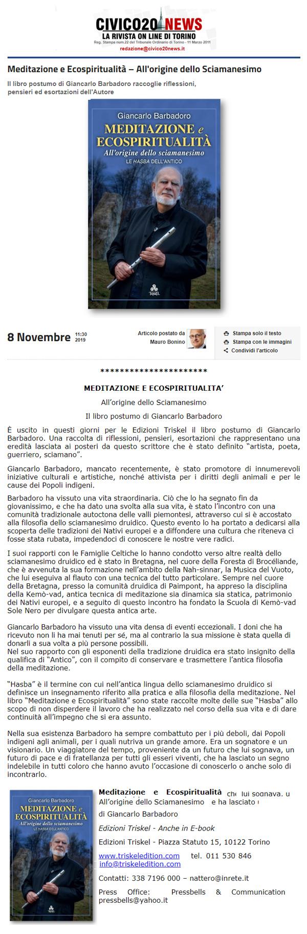 Civico-20-News-08-11-2019-Meditazione-e-Ecospiritualita-Giancarlo-Barbadoro